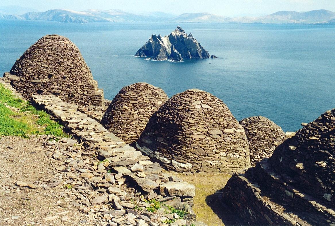 Escenarios de Star Wars que puedes visitar en el mundo Skellig Michael, Irlanda