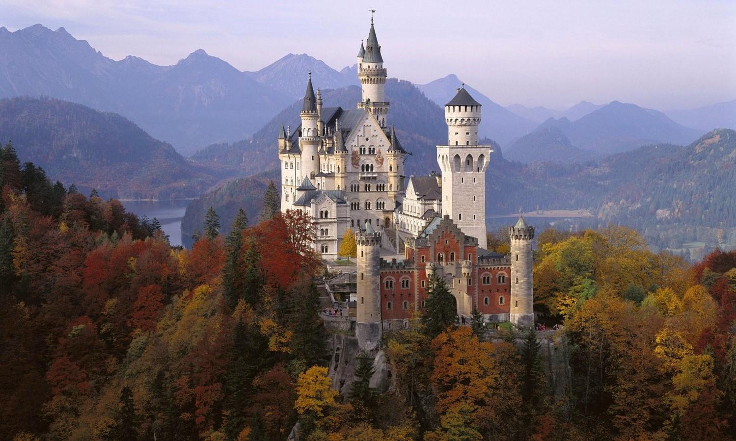 Los castillos más bonitos del mundo Neuschwanstein, Alemania