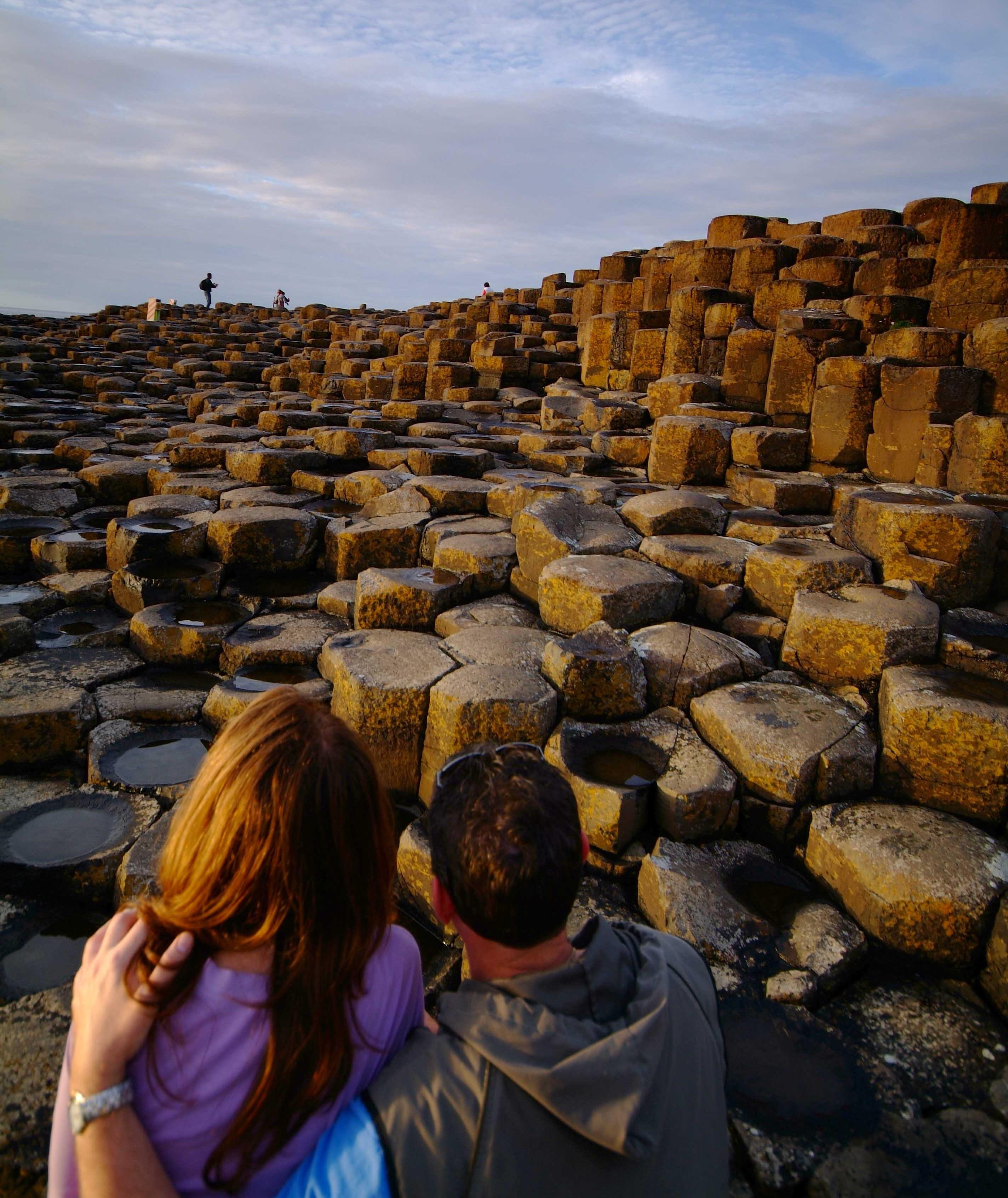Los paisajes más increíbles del mundo con formas geométricas Calzada del Gigante Irlanda