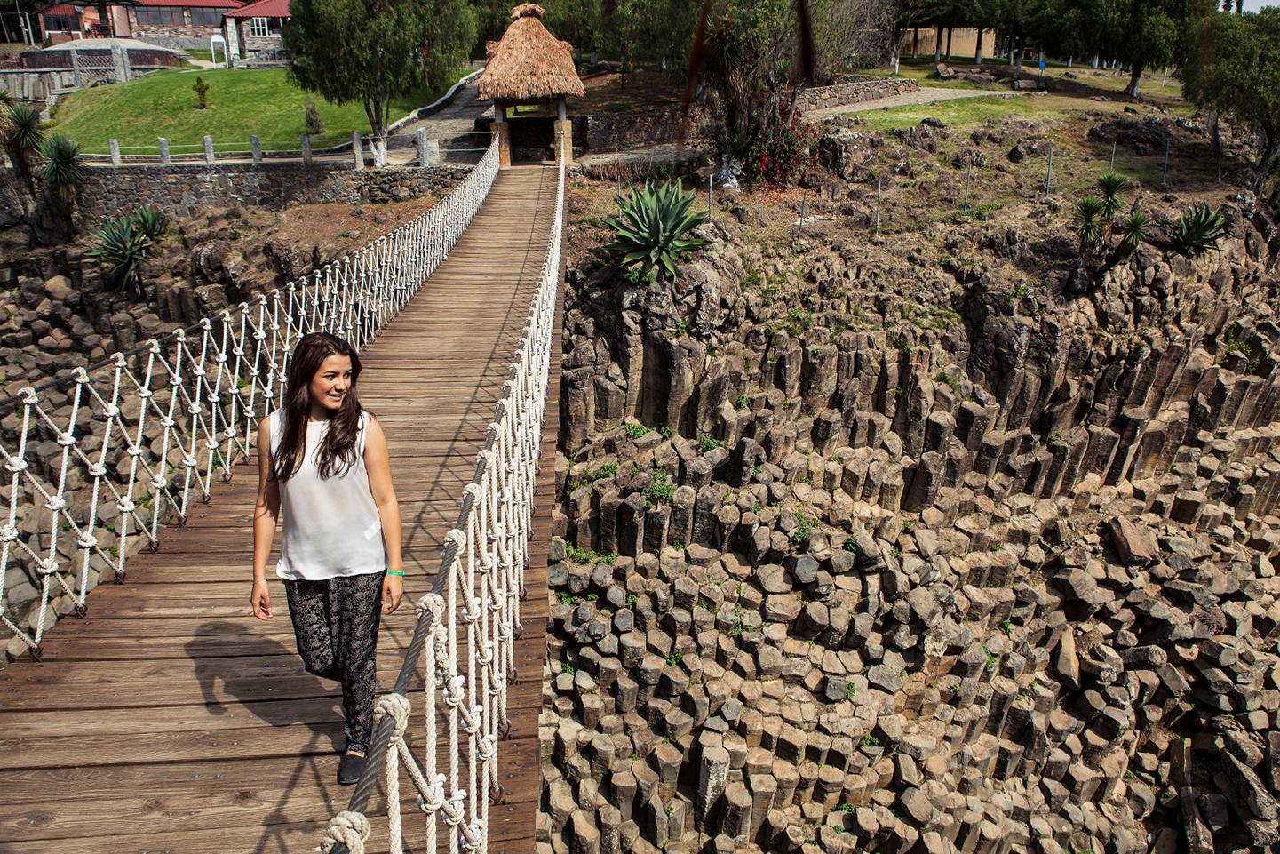 Los paisajes más increíbles del mundo con formas geométricas Prismas Basálticos Hidalgo