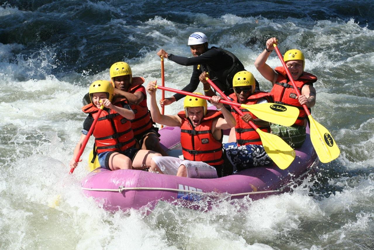 Lugares para practicar rafting en México