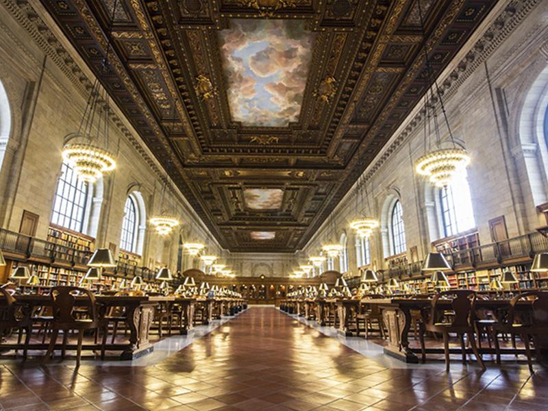 las mejores bibliotecas en Nueva York