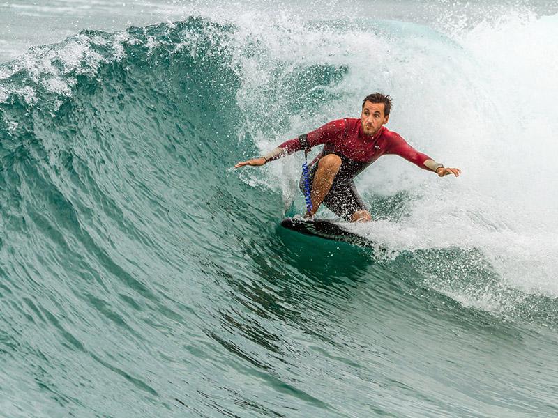 mejores países para surfear