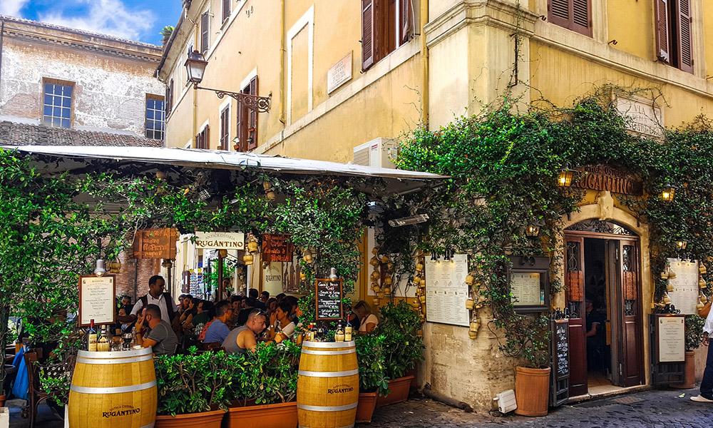 que comer en Roma