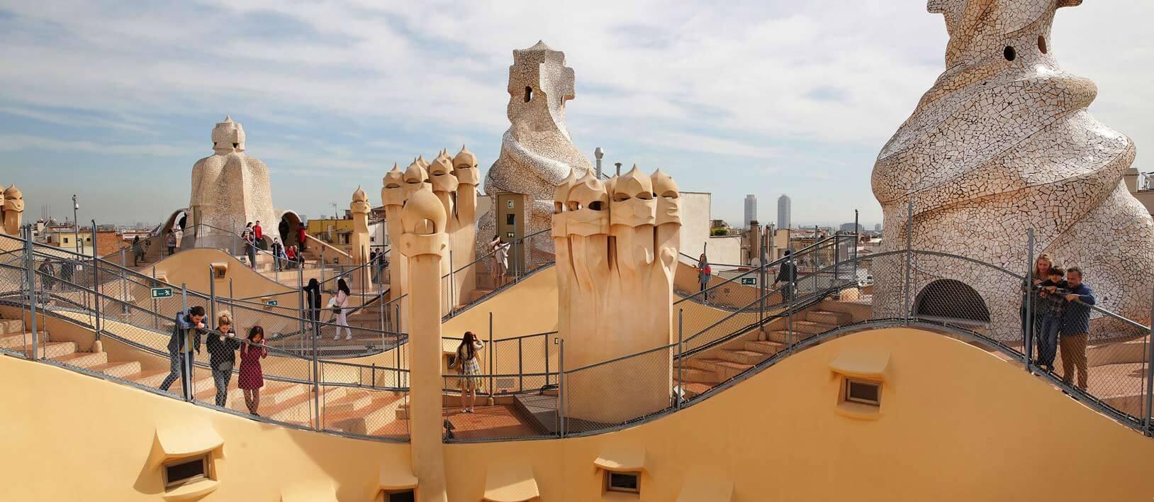Recorrido por las obras de Gaudí en Barcelona