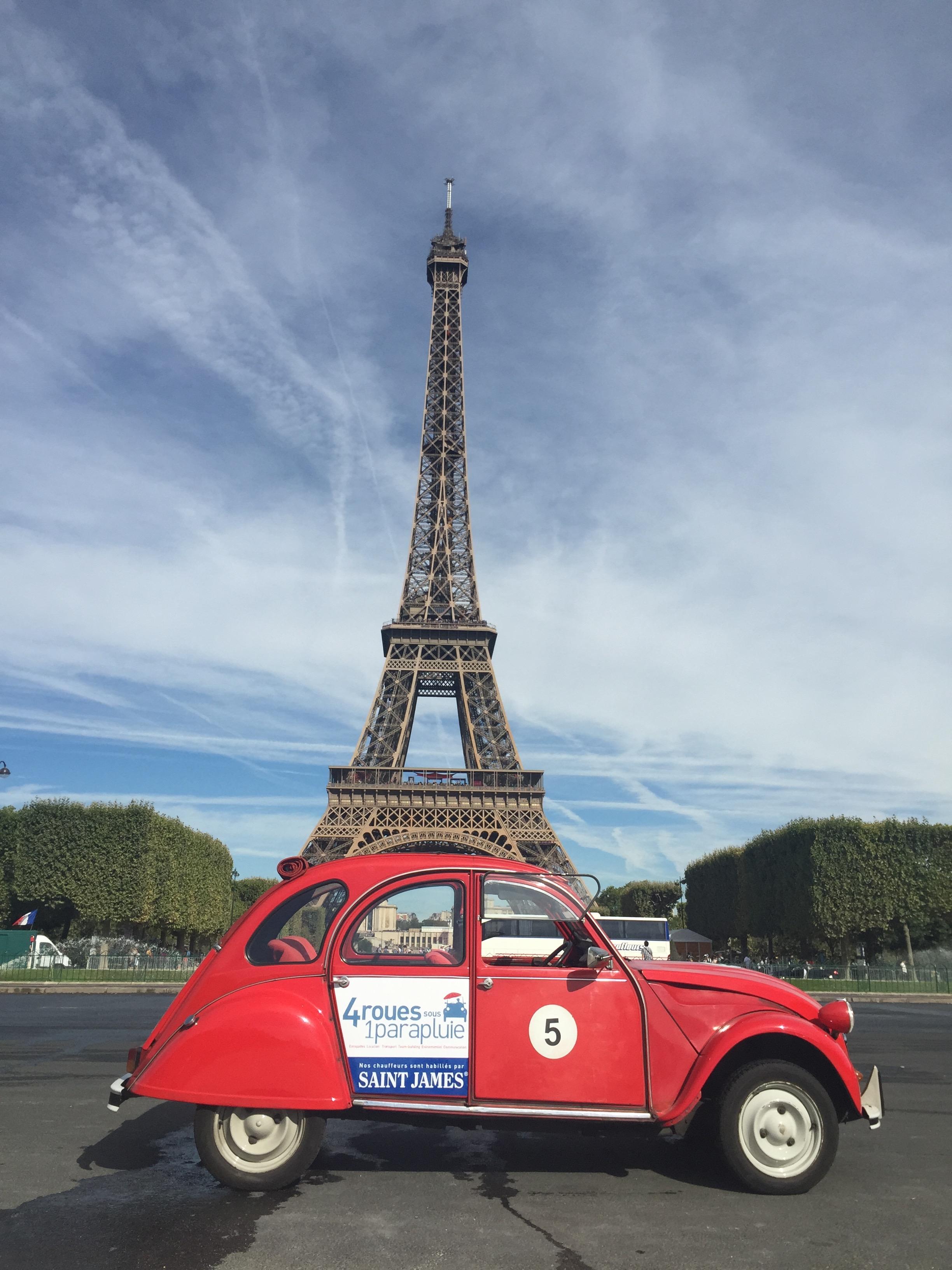 Recorridos por París en vocho
