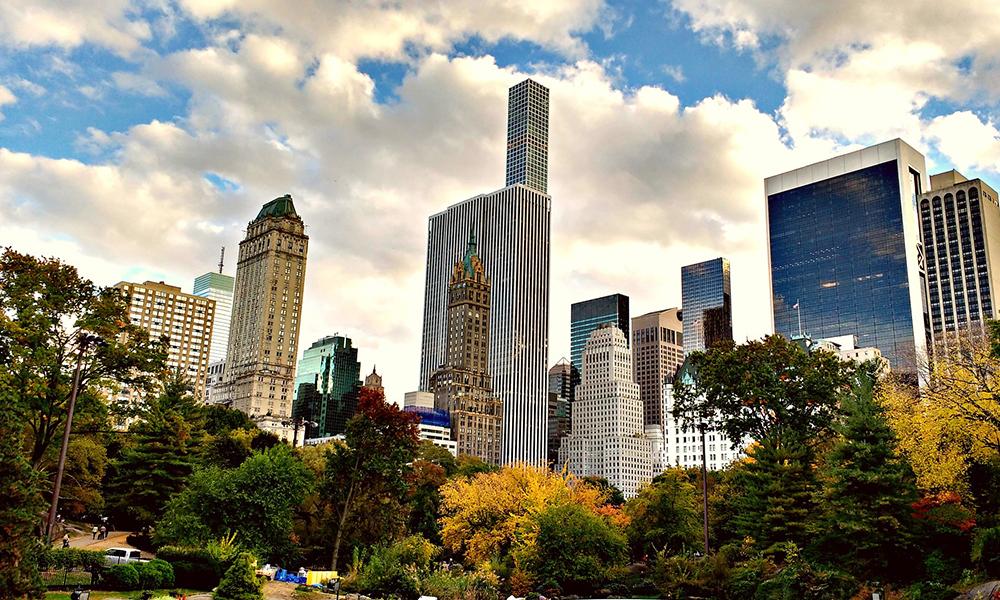 escenarios literarios de Nueva York
