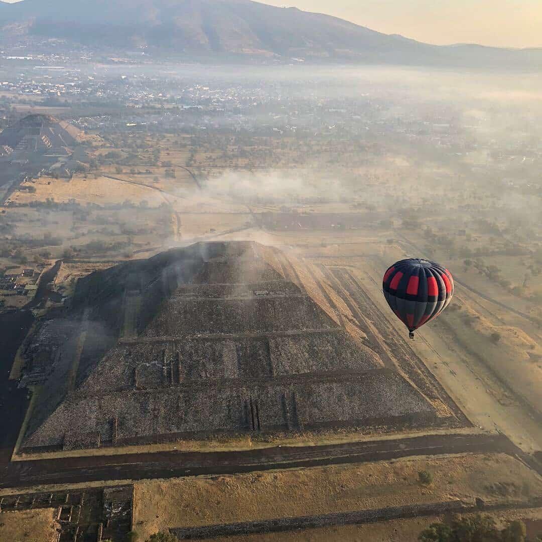 volar en globo en teotihuacan cuánto cuesta