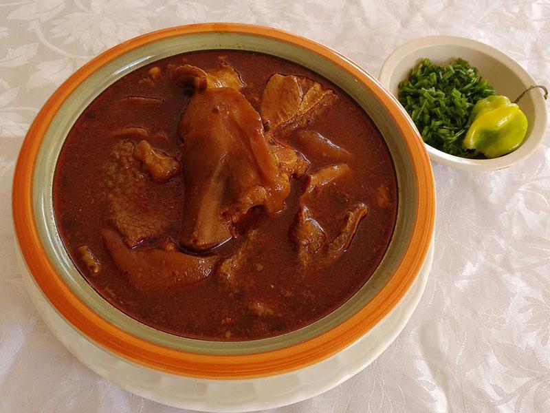 comida típica en Mérida