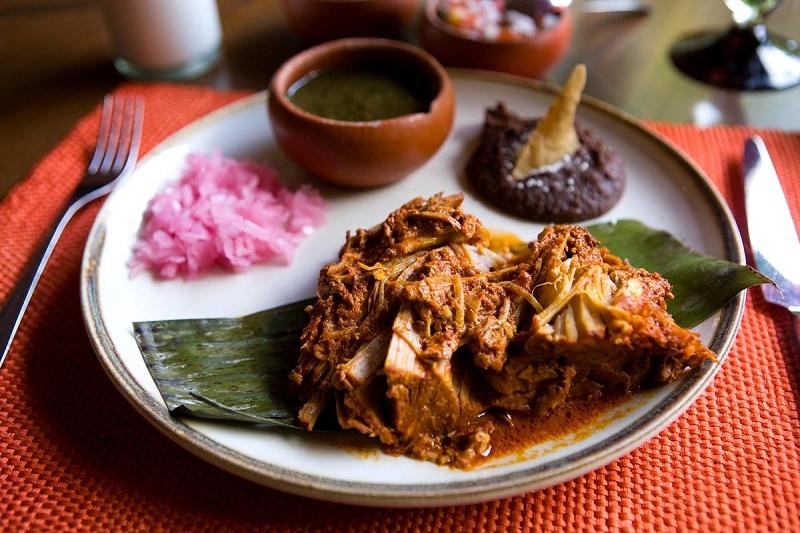 Comida tradicional en Mérida