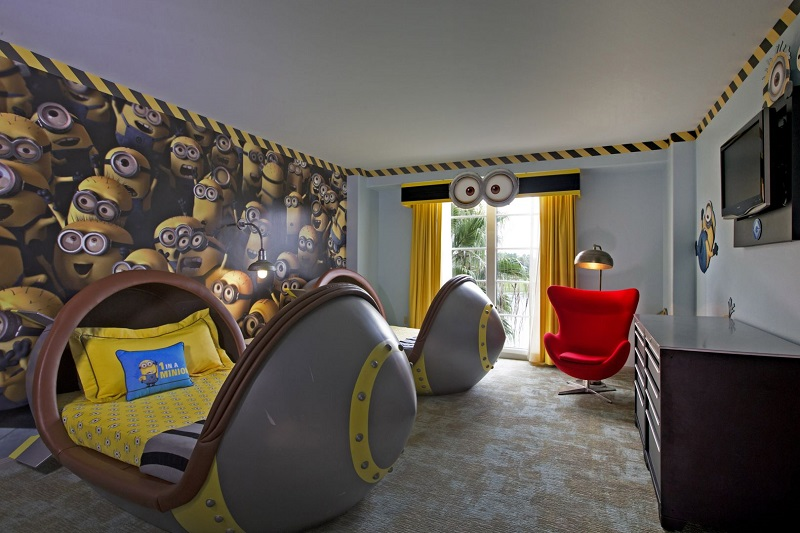 Hoteles temáticos de dibujos animados