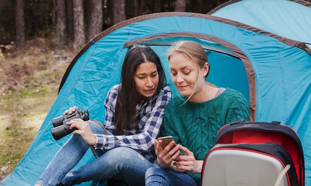 Las mejores apps para ir de campamento
