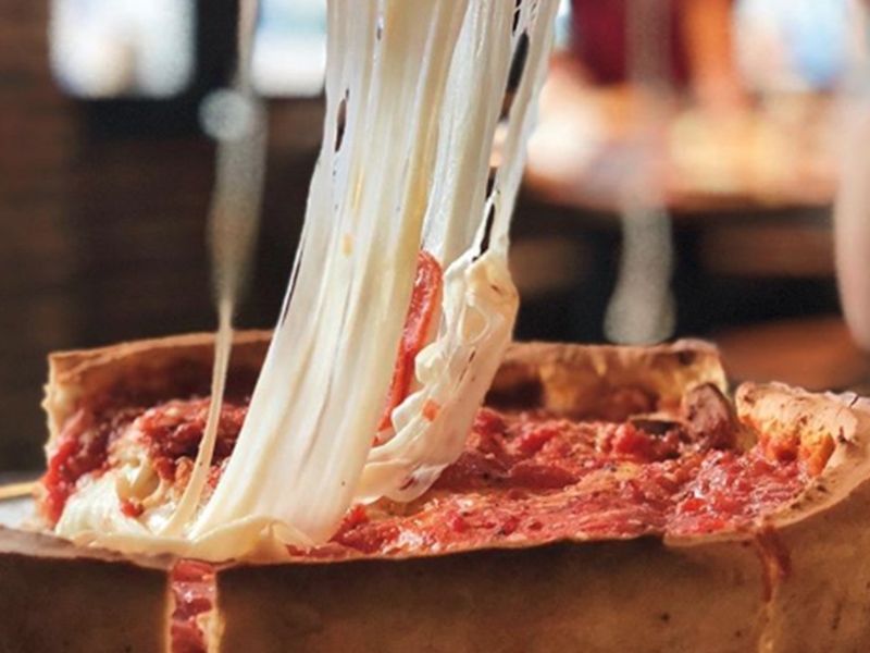 Dónde comer pizza en Chicago