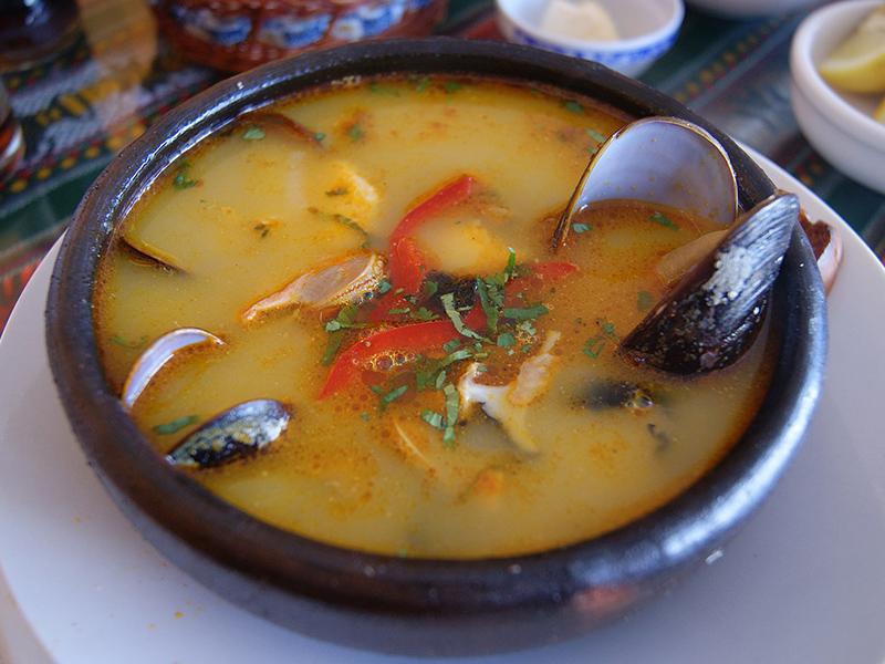 que comer en Chile