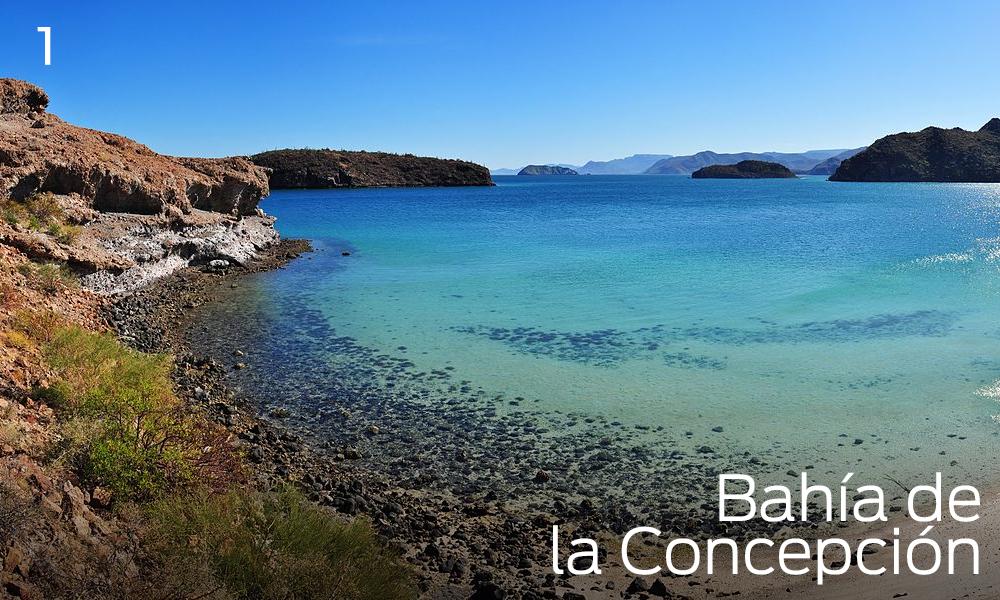 Bahía Concepción en Mulegé
