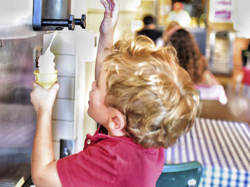 restaurantes para niños en Houston