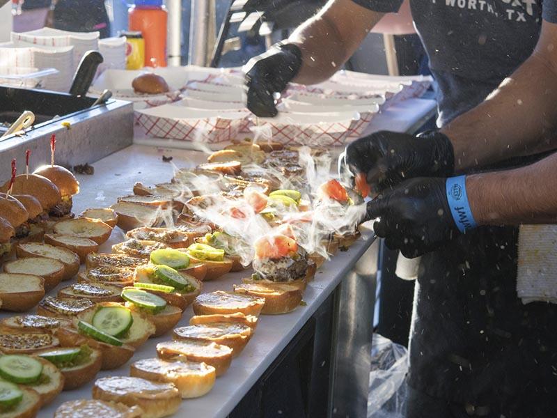 eventos gastronómicos de Texas