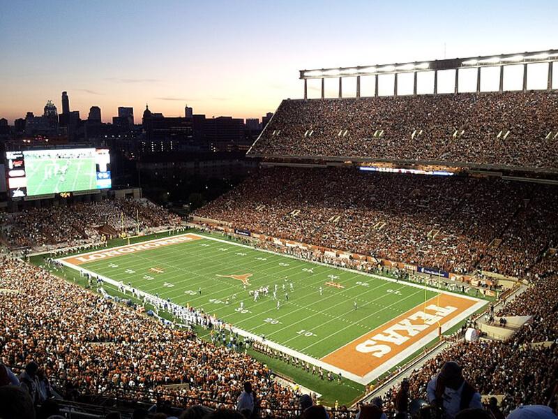 futbol americano en Texas