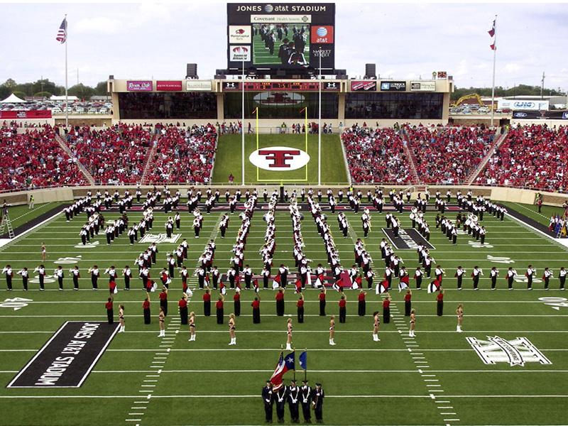futbol americano universitario en Texas.