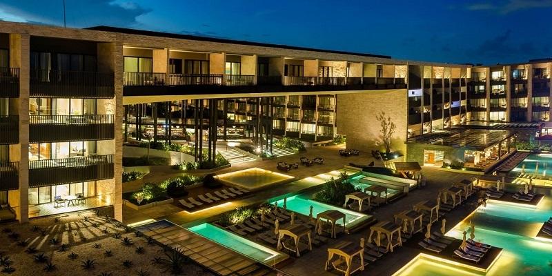 El encanto del hotel Grand Hyatt Playa del Carmen