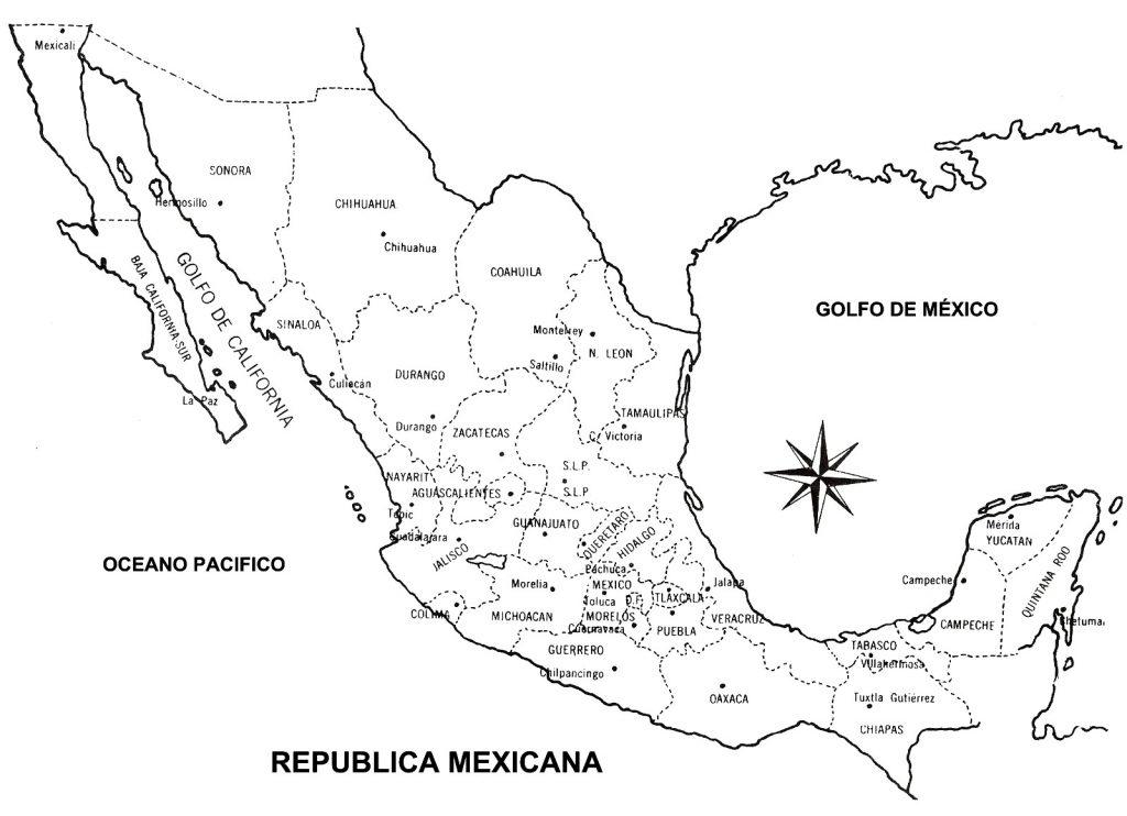 El Mapa De Mexico La Principal Herramienta De Los Viajeros