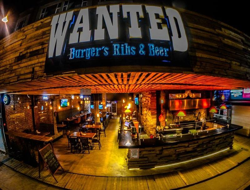 Restaurante Wanted en la CDMX