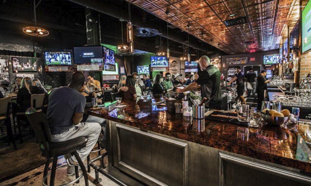 sports bar de Texas