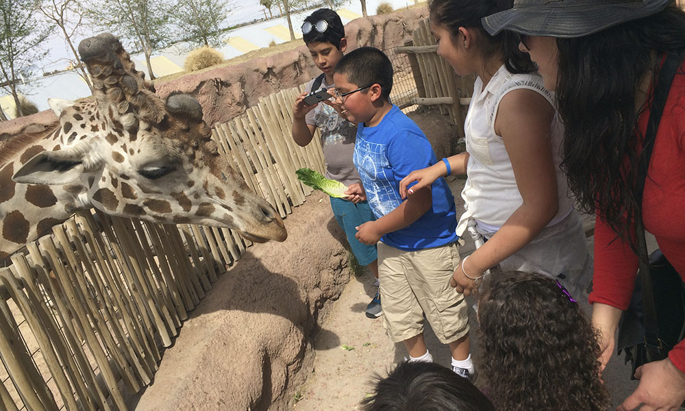 El Paso con niños