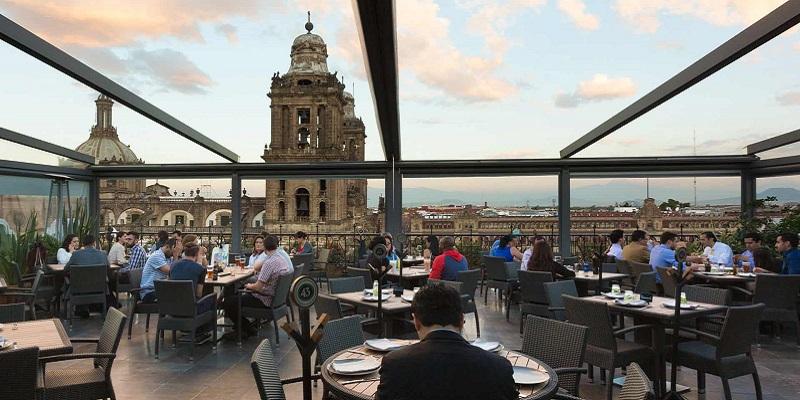 Balcón del Zócalo, el restaurante con la mejor vista