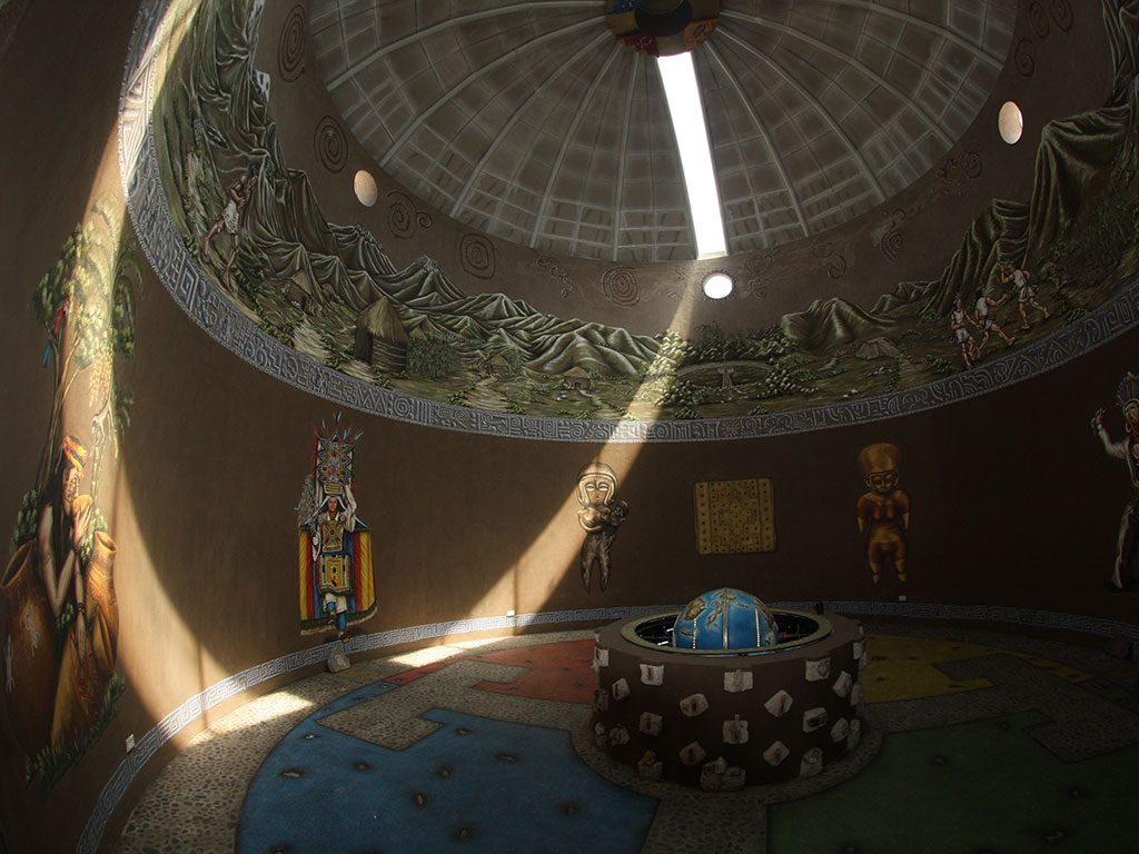 Museo Intiñan en Ecuador