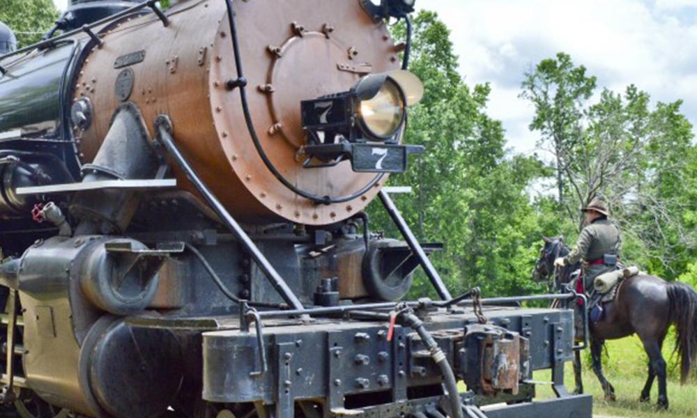 Texas State Railroad en el cine