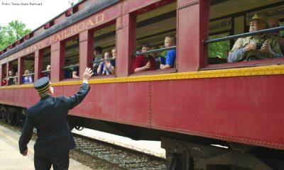 eventos del Texas State Railroad