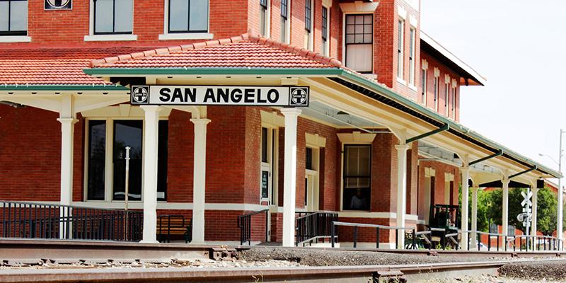 herencia wéstern en San Angelo