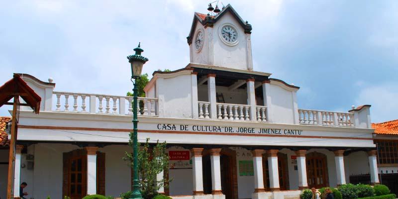 Casa de la Cultura Dr. Jiménez Cantú.