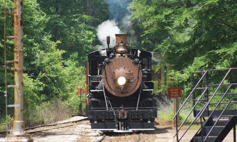 los mejores paseos en tren en Texas