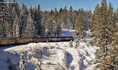 Estados Unidos en tren