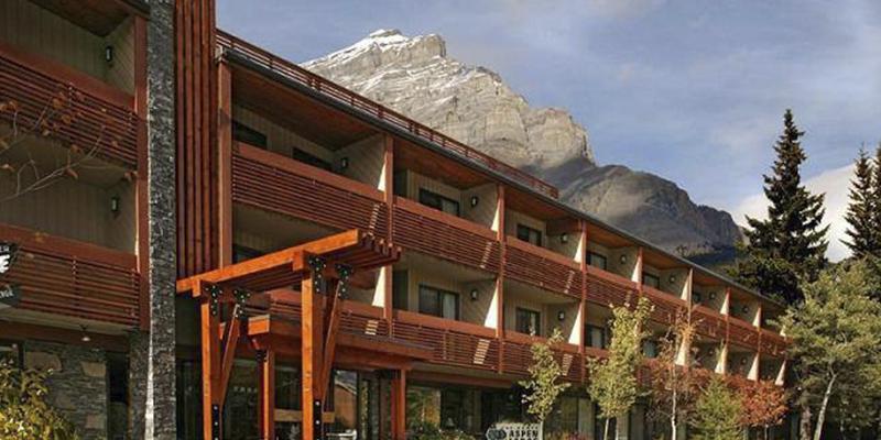 hospedarse en Banff
