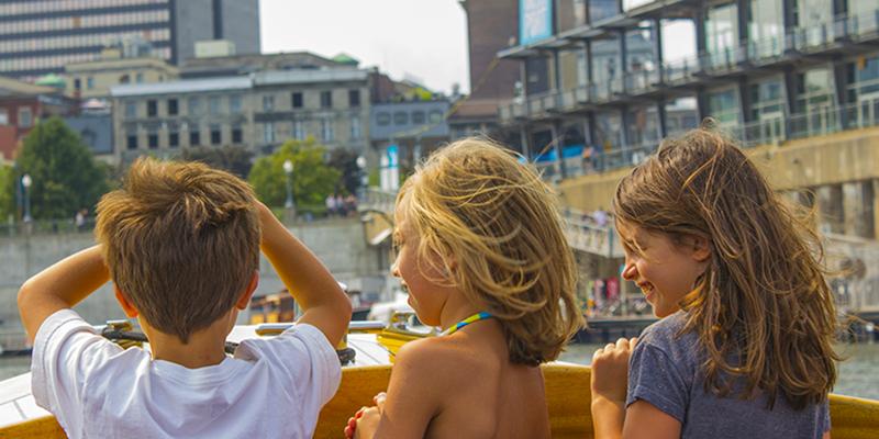 Montreal con niños
