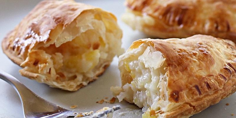 Empanadas de coco, una delicia de la cocina quintanarroense.