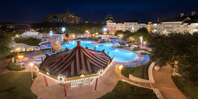 hoteles para niños de Disney