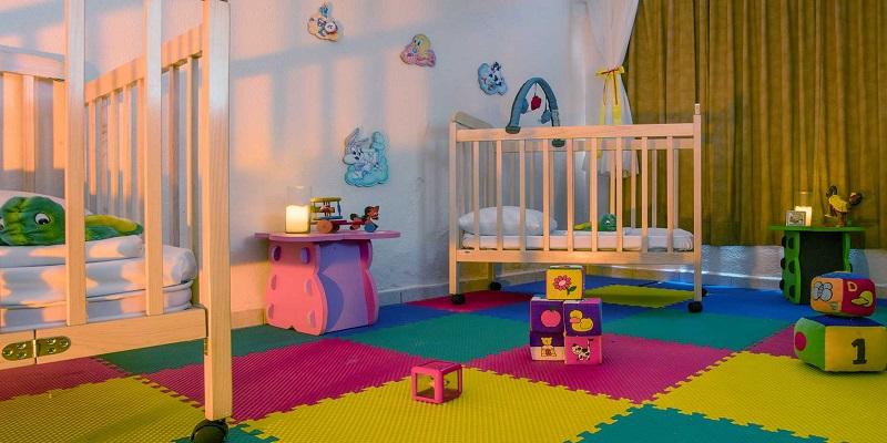 El Baby Paradise ofrece actividades para bebés mayores de 18 meses y niños menores de cuatro años.