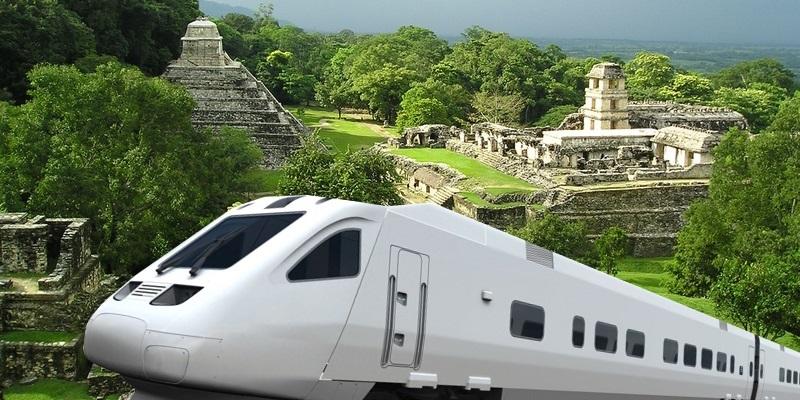 Майский поезд, новый Канкун из Фонатура