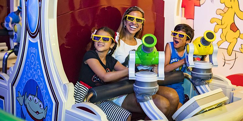 mejores atracciones de Disney World para niños