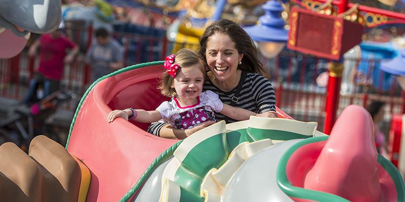 atracciones para niños en Disney World