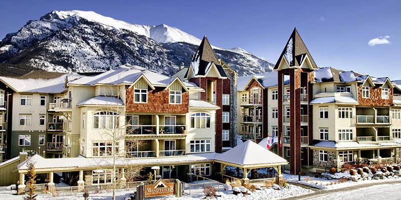 mejores hoteles de Canmore