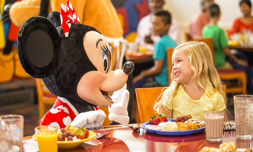 restaurantes para niños en Disney World