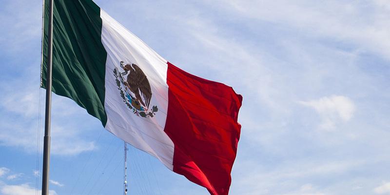 La bandera que identifica a México en cualquier sitio