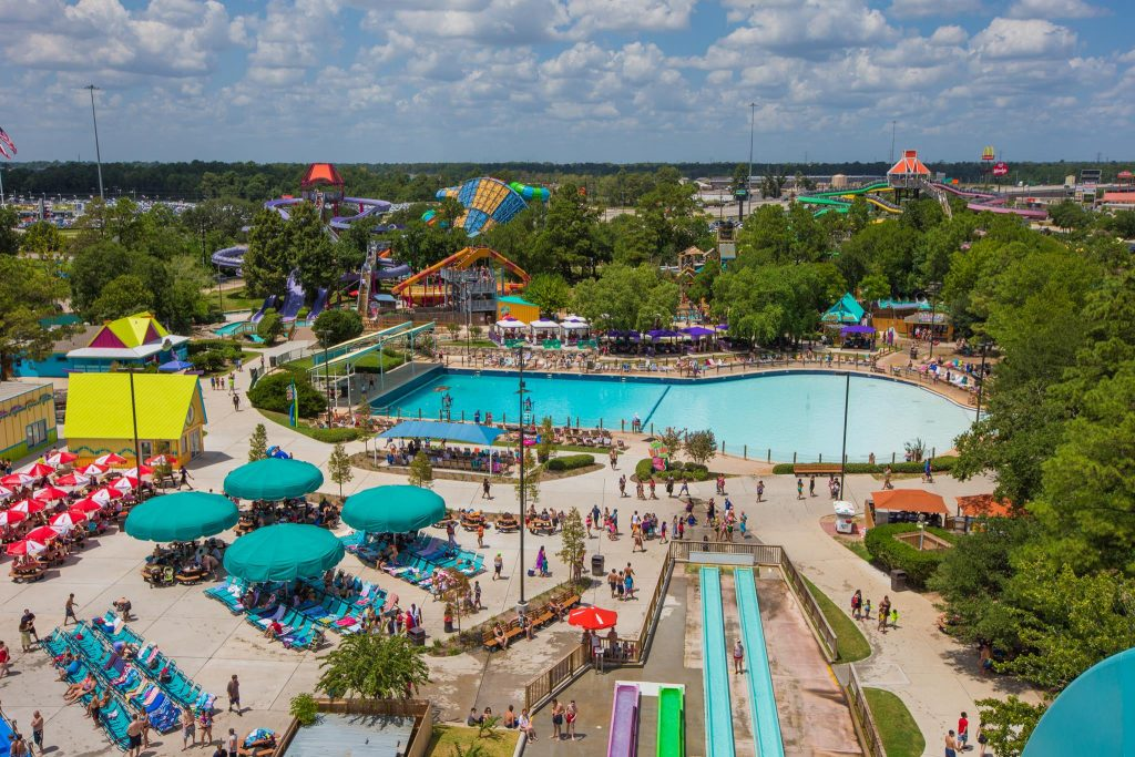 Six Flags Hurricaine Harbor Splashtown