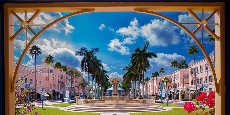 Otra opción de shopping al sur de The Palm Beaches