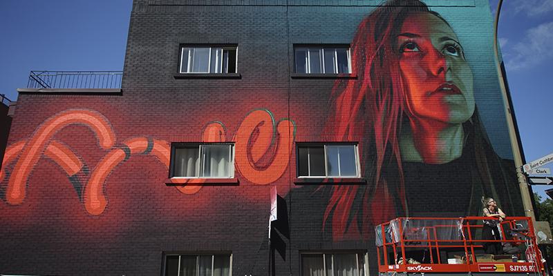 arte urbano de Montreal